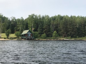 view from lake